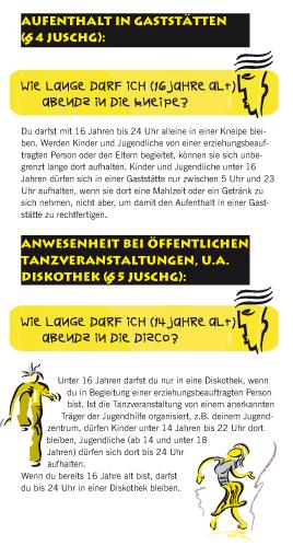 FAQs zum Jugendschutzgesetz für Jugendliche - Seite 4